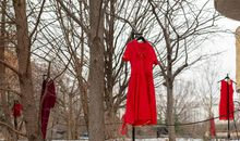 These Haunting Red Dresses Memorialize Murdered and Missing Indigenous Women