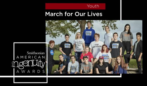 Preview thumbnail for video'Smithsonian Ingenuity Award Winners: March for Our Lives Students