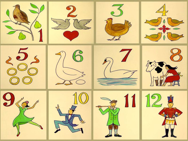 12 Facts About \'The 12 Days of Christmas\' | Smart News | Smithsonian