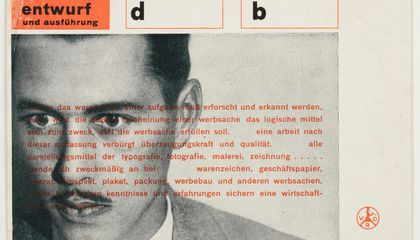 The Pioneering Work of Graphic Artist Herbert Bayer