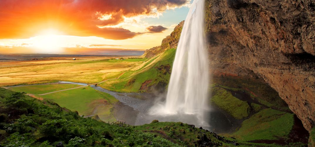 Seljalandsfoss, near Vik