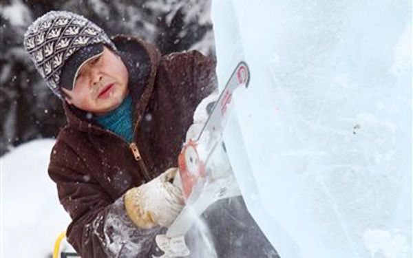 What if your playground was made of ice?