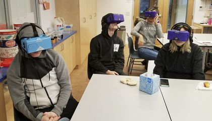 Image: Virtual reality field trips give students advanced adventure