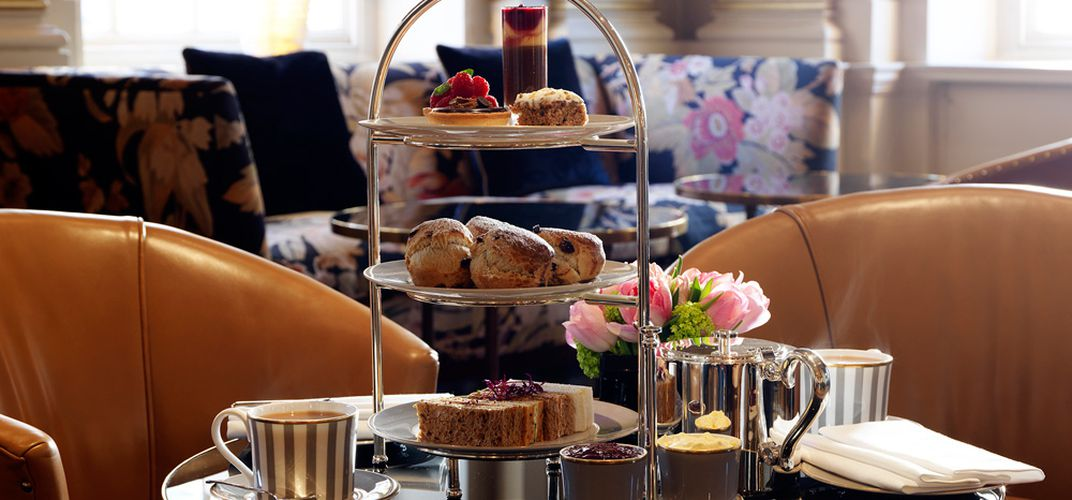 Afternoon tea at the Bloomsbury Hotel