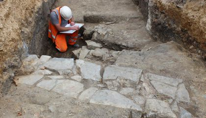 Long-Lost Medieval Monastery Discovered Beneath Parking Garage in England