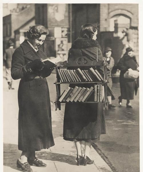 A brief history of taking books along for the ride