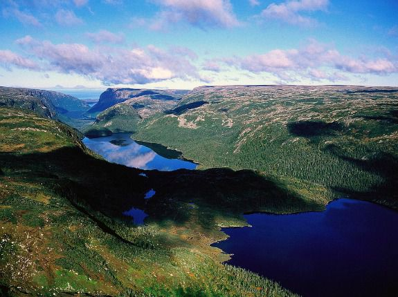 From the heights of Gros Morne National Park
