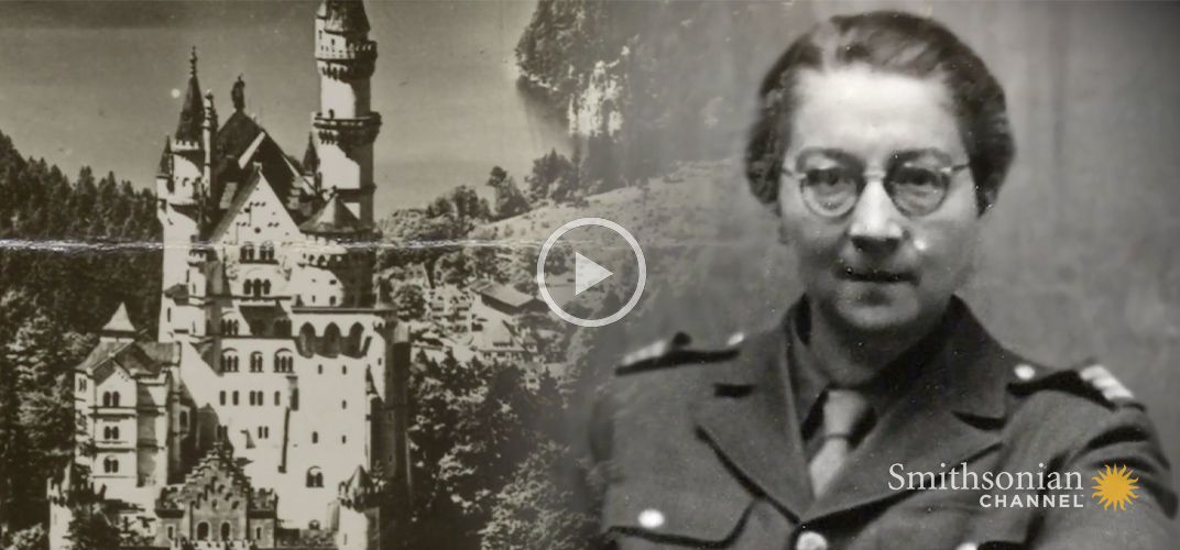 Caption: This French Woman Risked Her Life to Document Nazi Theft