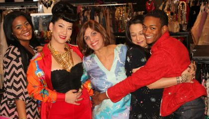 A Refreshing Take on Fashion Television: A Q&A with L.A. Frock Stars' Star Doris Raymond