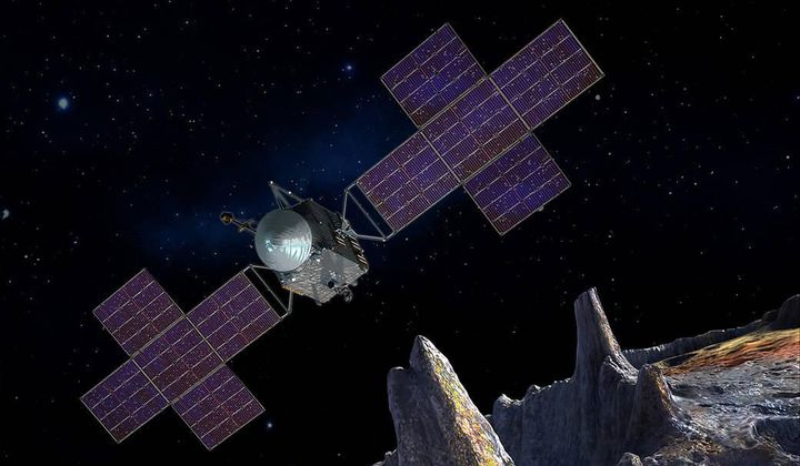 NASA to Build Spacecraft Bound for Metal Asteroid