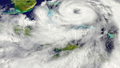 Can We Capture Energy From a Hurricane?