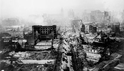 Rare 1906 San Francisco Earthquake Footage Found at Flea Market