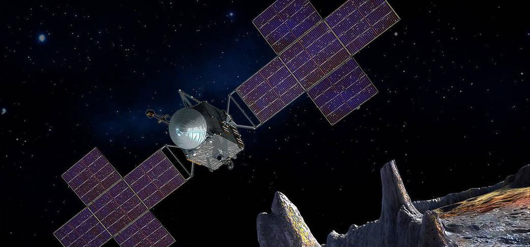 Caption: NASA to Build Spacecraft Bound for Metal Asteroid