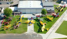 A memorable gathering at the Allen Airways Flying Museum.