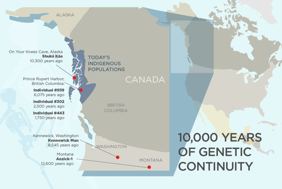 DNA of Ancient Skeleton Linked to Modern Indigenous Peoples