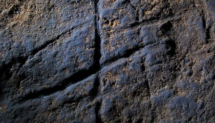 Neanderthal Carvings in a Gibraltar Cave Reveal Some of Europe's Oldest Known Artwork