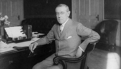 Woodrow Wilson's Papers Go Digital, Leaving Microfiche Behind