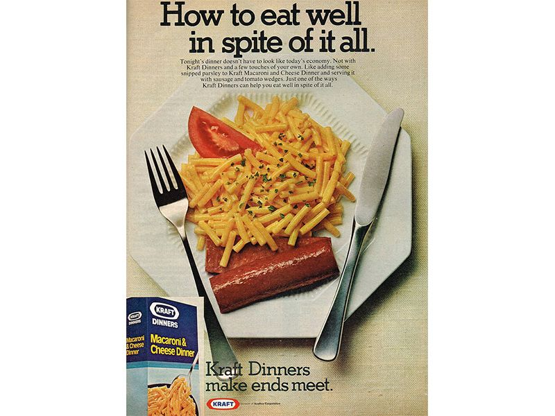 Kraft ad: 'How to eat well in spite of it all'