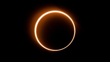 A 'Ring of Fire' Eclipse Dazzled Viewers in Asia and the Middle East