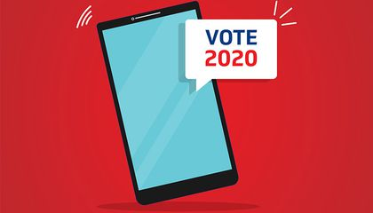 How the 2020 Presidential Race Became the 'Texting Election'