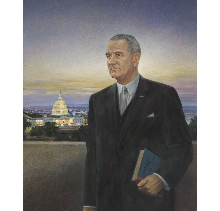 "The Presidential Portrait That Was the ""Ugliest Thing"" LBJ Ever Saw"
