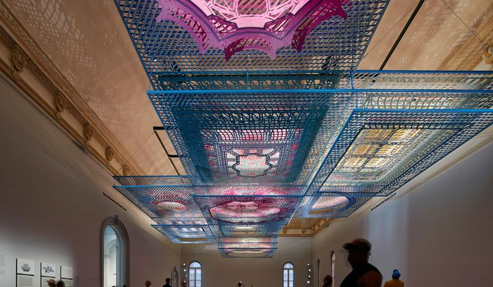 Look Up to See This Dazzling Puzzle at the Renwick