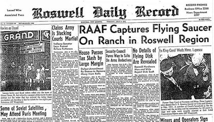 In 1947, A High-Altitude Balloon Crash Landed in Roswell. The Aliens Never Left