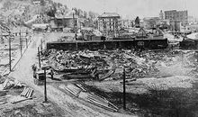 Town in Idaho destroyed by 1910 forest fire
