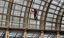 Watch a Man Fly a Jetpack Around D.C.'s Ronald Reagan Building at Smithsonian's 'The Future Is Here' Festival