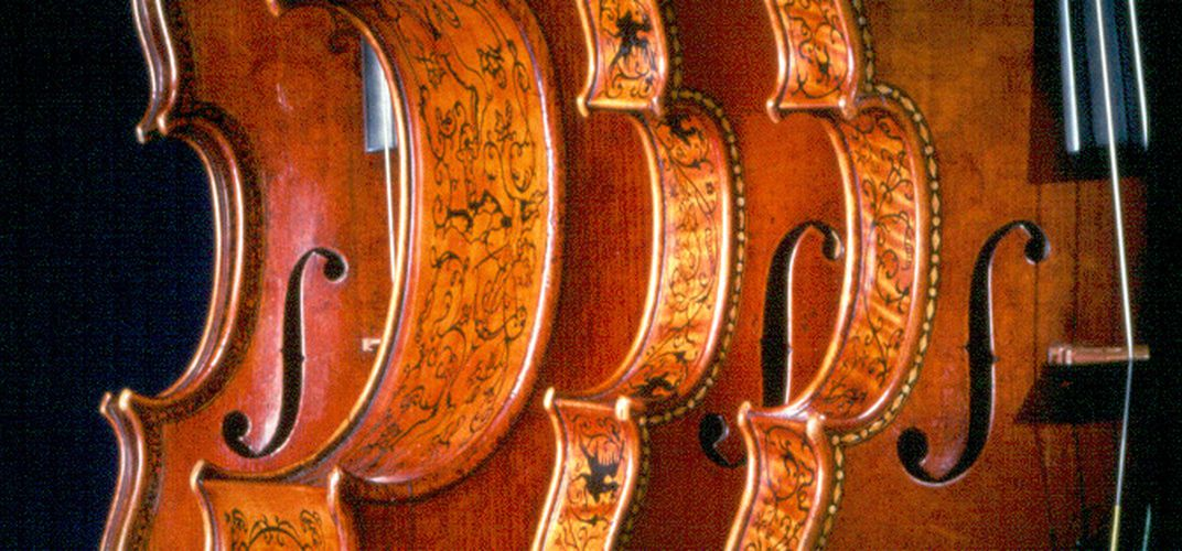 Stradivarius instruments, collection of National Museum of American History