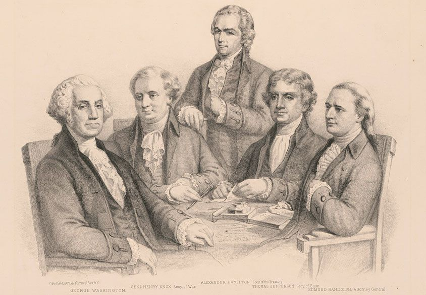 The President S Cabinet Was An Invention Of America S First