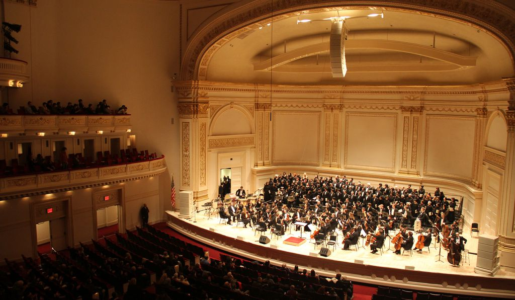 This year marks Carnegie Hall's 125th year in New York City. In the time since, the famed concert hall has hosted more than 46,000 events, including the American debut of Russian composer Pyotr Ilyich Tchaikovsky.