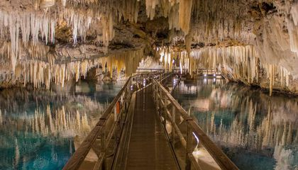 "These Caves in Bermuda Inspired the '80s TV Show ""Fraggle Rock"""