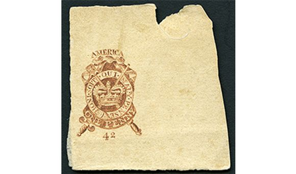 Stamp Act of 1765 Proof, 1765