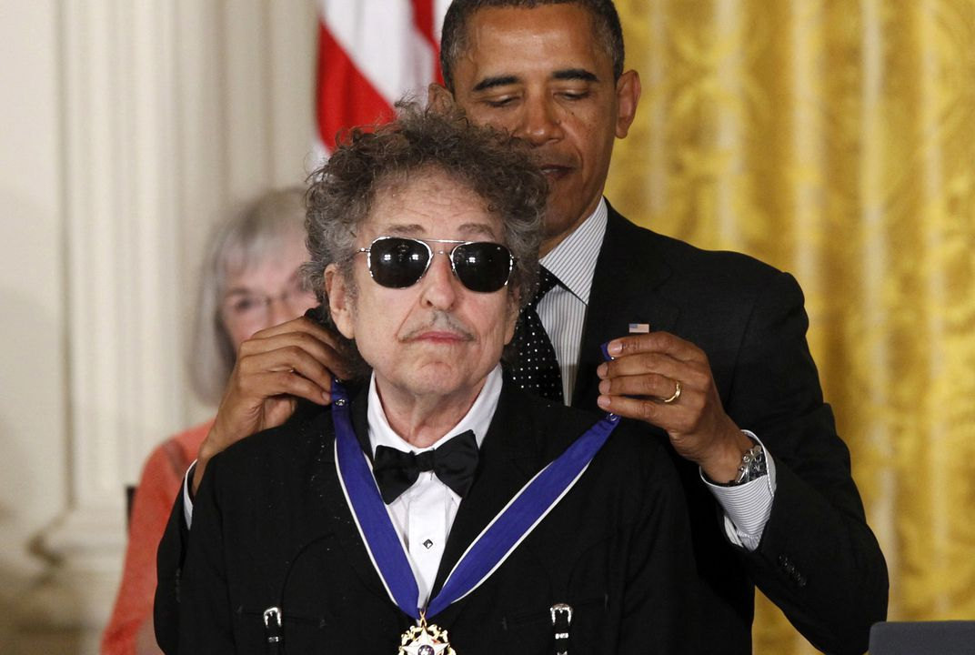 American songwriter Bob Dylan wins Nobel Prize in literature