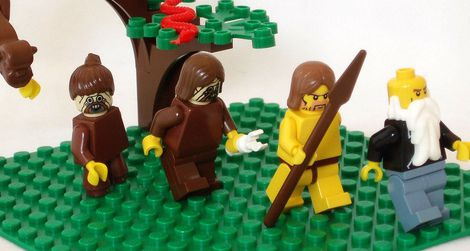 Even Legos can be a gift for human evolution enthusiasts.