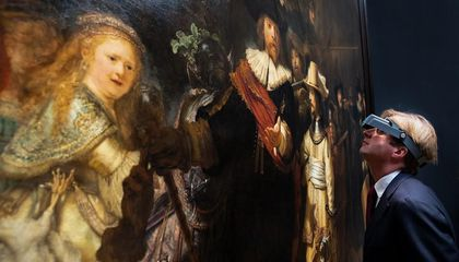 You'll Be Able to Watch Rembrandt's Most Ambitious Work Be Restored In-Person—or Online