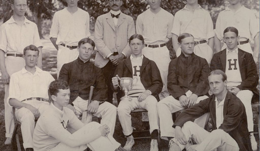 To this  day, Haverford College fields a varsity team (in 1902).