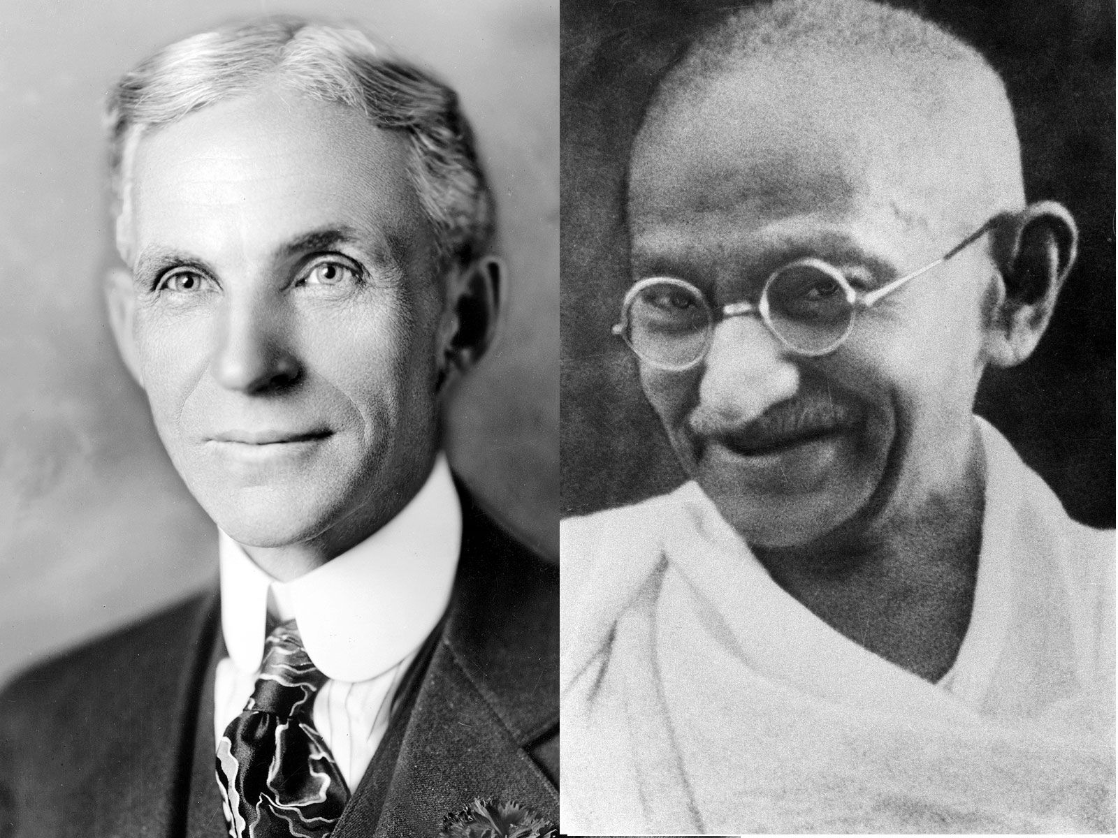The Unlikely Bromance Between Henry Ford and Mohandas Gandhi