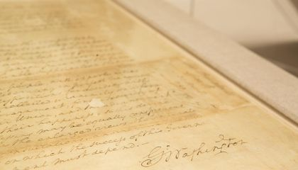 The Speech and Bible From George Washington's First Inauguration Made History Many Times Over