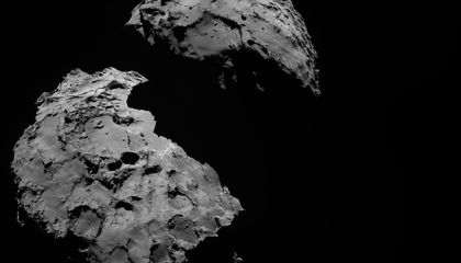 Rosetta's Comet Smells Really, Really Bad