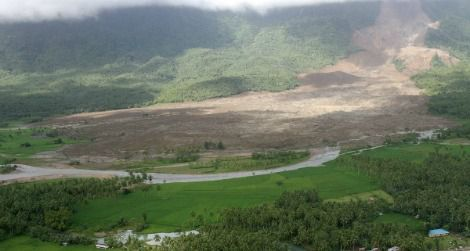 Landslides can be both sudden and devastating