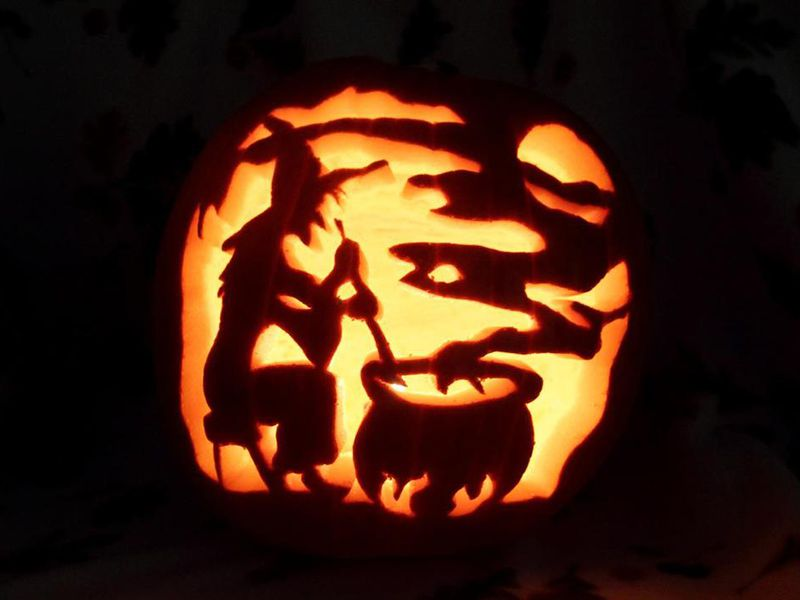 Witches pumpkin