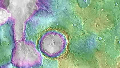 Mars Was Wet More Recently Than Previously Thought blog image