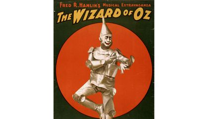 The Tin Man Is a Reminder of L. Frank Baum's Onetime Oil Career