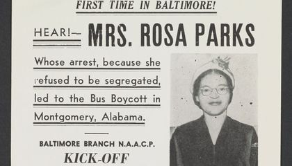 Rosa Parks' Papers Are Now Online