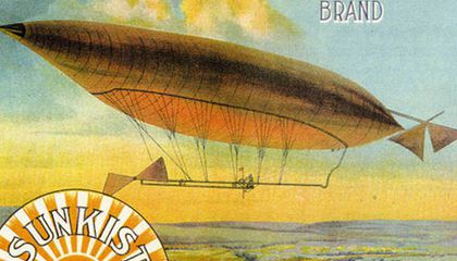 Airships and Oranges: The Commercial Art of the Second Gold Rush