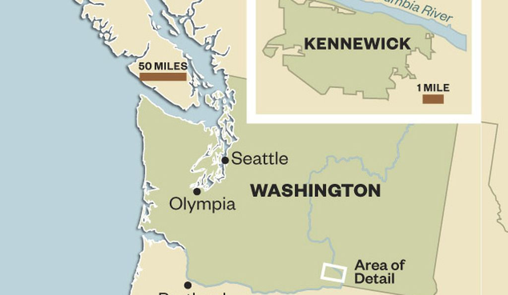 Map of Kennewick