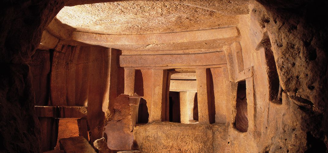 Caption: Malta's Hypogeum, One of the World's Best Preserved Prehistoric Sites, Reopens to the Public