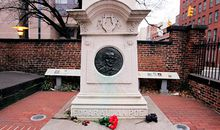 Edgar Allan Poe gravesite Baltimore Maryland
